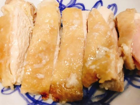 シリコンスチーマーで簡単♫鶏もも肉の塩麹蒸し