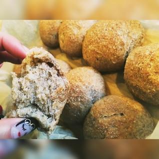 低温発酵。全粒粉100% ちぎりパン。