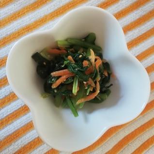 簡単♪レンジde小松菜のごま和え