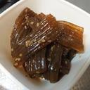 簡単☆こんにゃくの甘辛煮