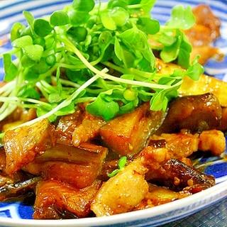 茄子の焼肉炒め
