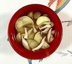茄子と茸のお味噌汁
