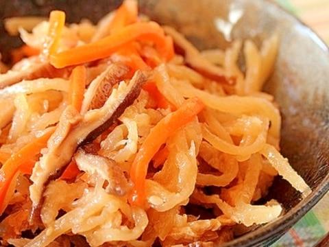 無添加◎簡単 基本の切干大根の煮物