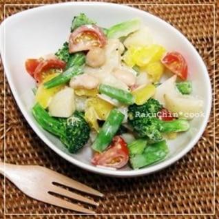 * 野菜たっぷりジャーマンポテトサラダ *