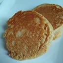 お麩いり☆ふわもちきなこパンケーキ