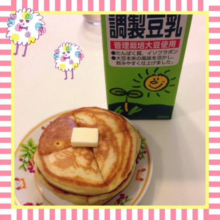 ☻豆乳ホットケーキ☻