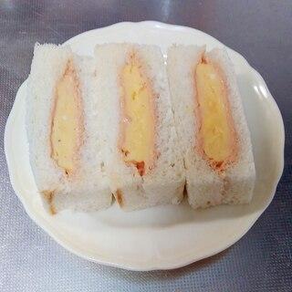 厚焼き卵サンド(オーロラソース)
