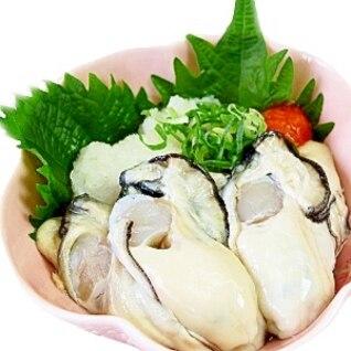 絶品☆生牡蠣のおろしポン酢