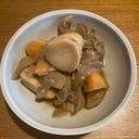 シャトルシェフ で里芋と舞茸の煮物