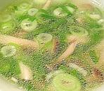 きのこの中華スープ