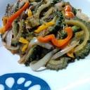 夏野菜のジャポネソース炒め