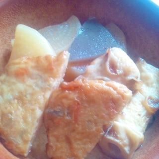 圧力鍋で☆大根とこんにゃくと練り物の煮物