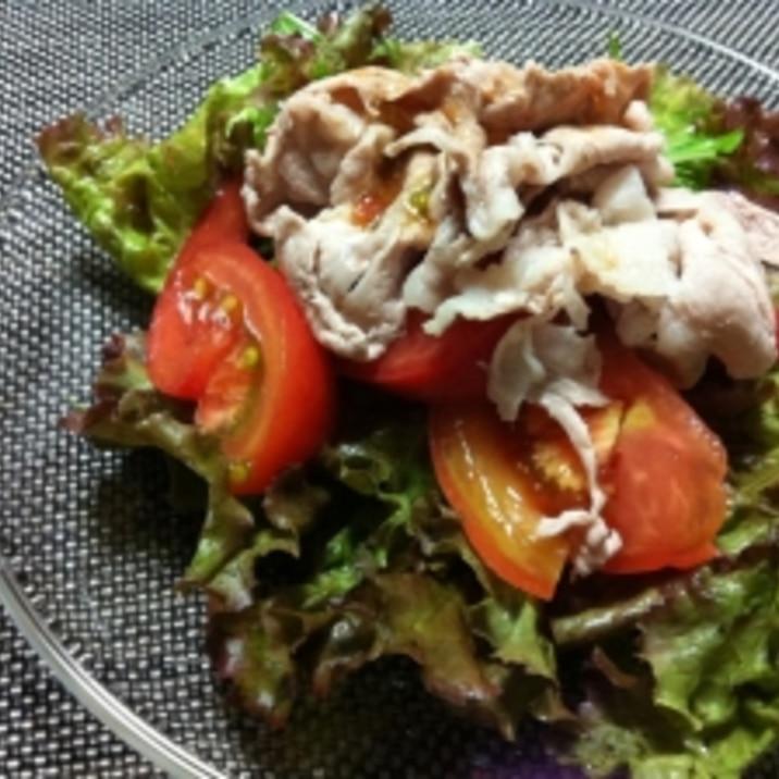 トマトの冷しゃぶサラダ