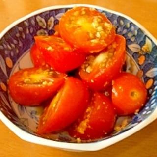 すっぱいトマトが甘くなる!?簡単§トマトの小鉢§
