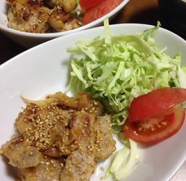 ご飯に!ビールに!豚肉のヨーグルト味噌漬け焼き