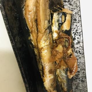 イワシの梅煮♡ お砂糖不使用!