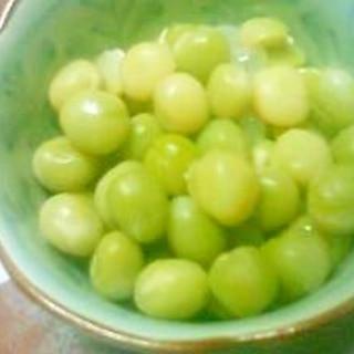 茹で青えんどう豆