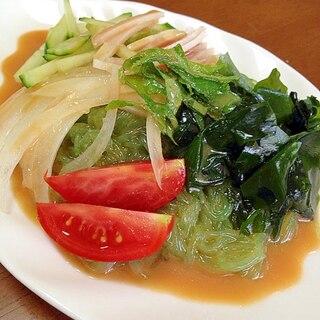 冷やし中華風こんにゃくサラダ