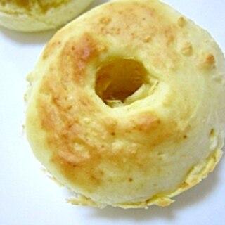 強力粉で★パン風焼きドーナツ(プレーン味)
