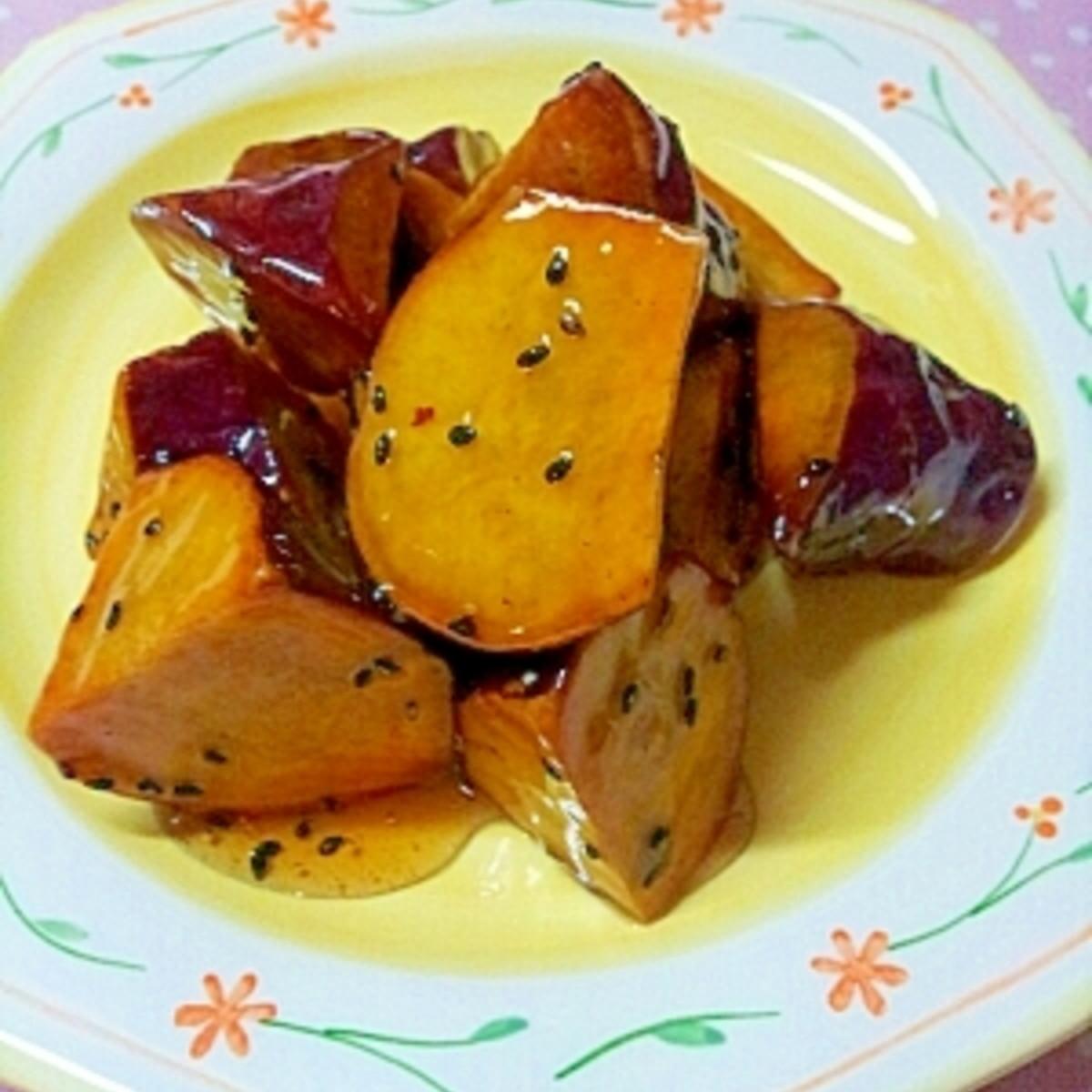 大学 芋 レシピ プロ