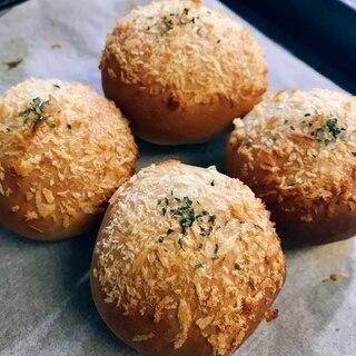 レンジで時短発酵!手ごね焼きカレーパン