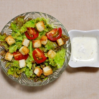 リーフレタスdeシーザーサラダ