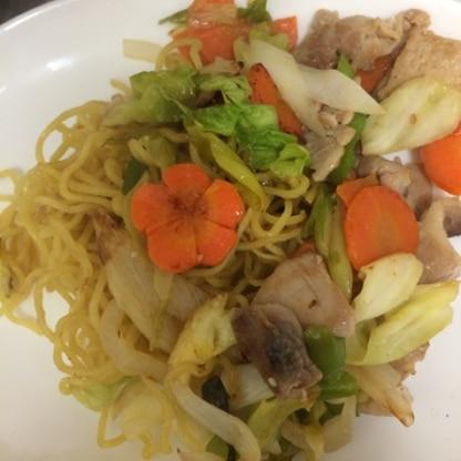 野菜たっぷり入れました♪( ´▽`) とても美味しかったです(*^◯^*) また作ります♡