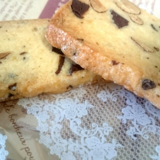 お菓子屋さん風☆人気のチョコナッツクッキー♪