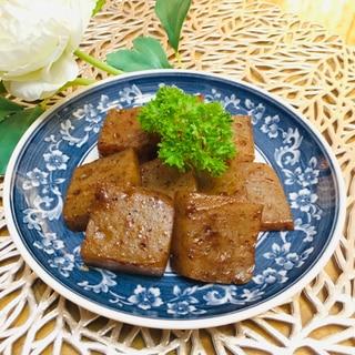 簡単おつまみ☆こんにゃくの甜麺醤炒め☆