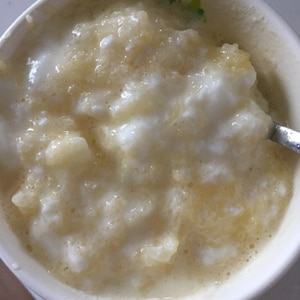 レンジでチン★なんちゃって朝食りんごヨーグルト★