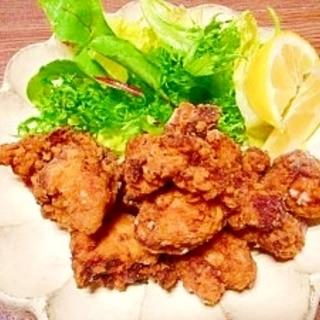 塩麴とニンニク☆鶏のから揚げ