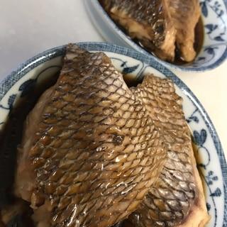 甘めの味付で美味しい 鯛の煮付け