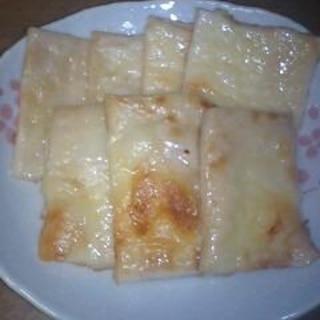 酒粕のチーズ焼き