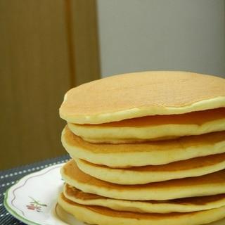 強力粉とヨーグルトのパンケーキ