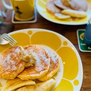 ヨーグルトでふんわり♡bills風パンケーキ