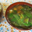 【おすすめレシピ】しじみ出汁で豆腐と三つ葉の味噌汁