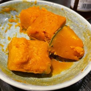 レンジ活用!かぼちゃの煮物風レシピ