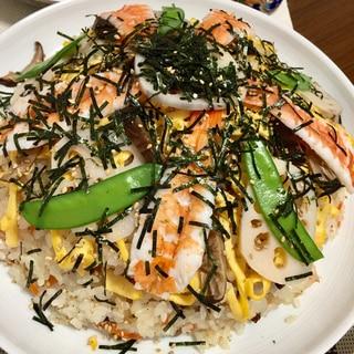 すし太郎にひと手間で絶品ちらし寿司