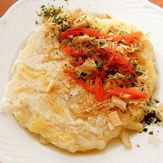 うどん&チーズお焼き♪(ピザ用チーズ他)