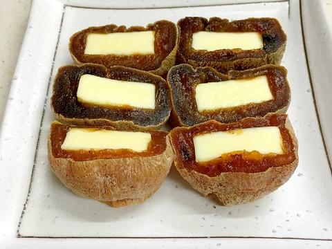 干し柿とベビーチーズ