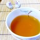 すっきりと香ばしい…かぼすほうじ茶