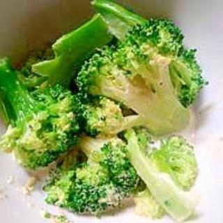 お弁当レシピ 冷凍ブロッコリーわさびマヨ和え