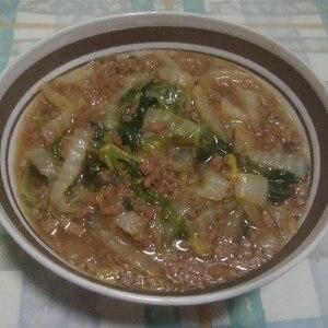 白菜マーボー 白菜消費レシピ♪