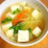 大根豆腐の味噌汁