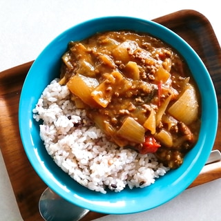 バーミキュラ☆ひき肉カレー