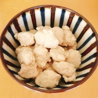 【離乳食後期】冷凍OK!豆腐入り!フワフワ鶏団子
