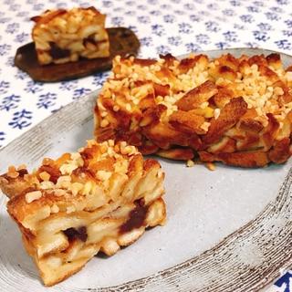 【簡単・節約・美味】パンの耳あんこケーキ