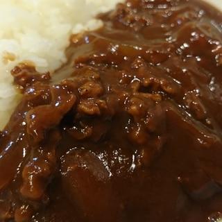市販のルーと豚こま肉でハヤシライス