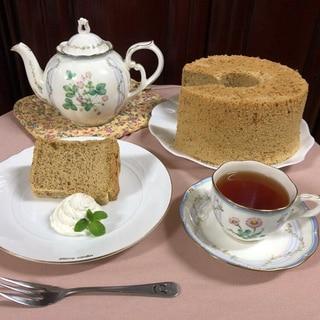 〜アールグレイの香り広がる〜 紅茶のシフォンケーキ