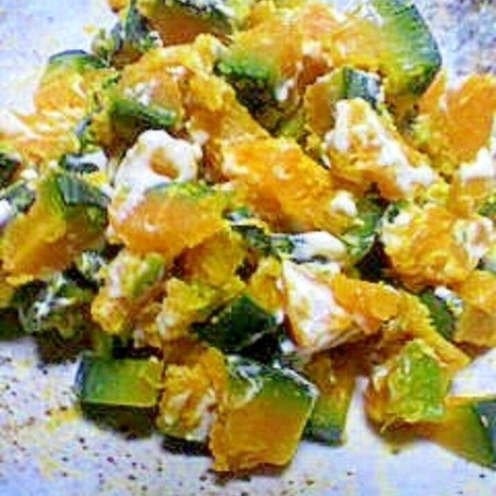 サラダ レンジ かぼちゃ かぼちゃのサラダはレンジでチン。ちょー簡単レシピ3つ。